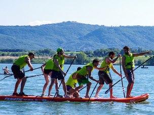 Balade au fil de l'eau en Paddle géant
